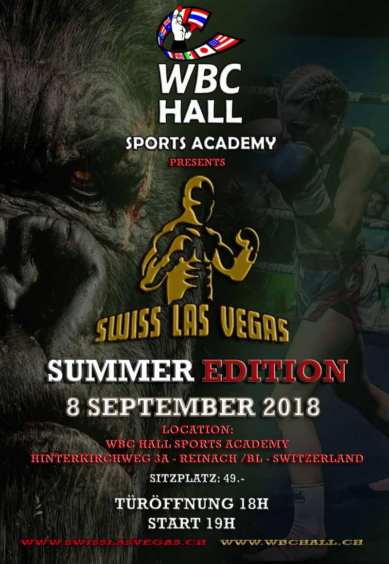 wbc hall swiss las vergas summer edition